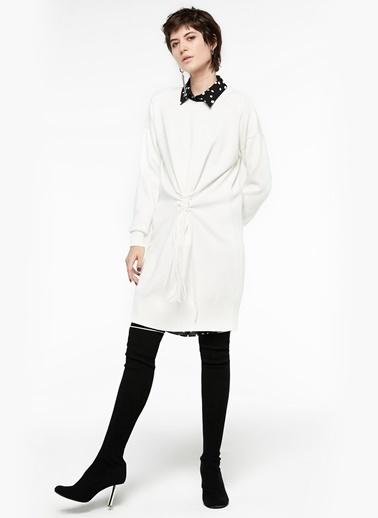 Belden Çapraz İp Geçişli Elbise-Twist